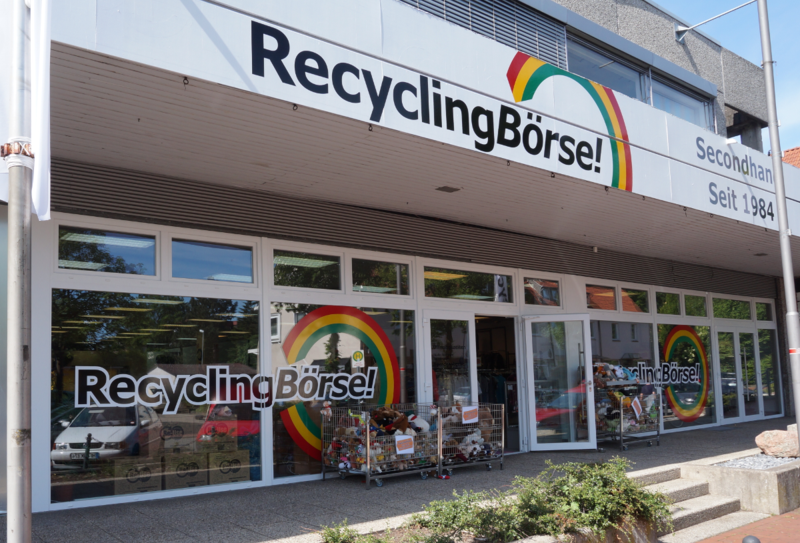 Umzug der RecyclingBörse! in Spenge